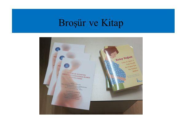 Broşür ve Kitap