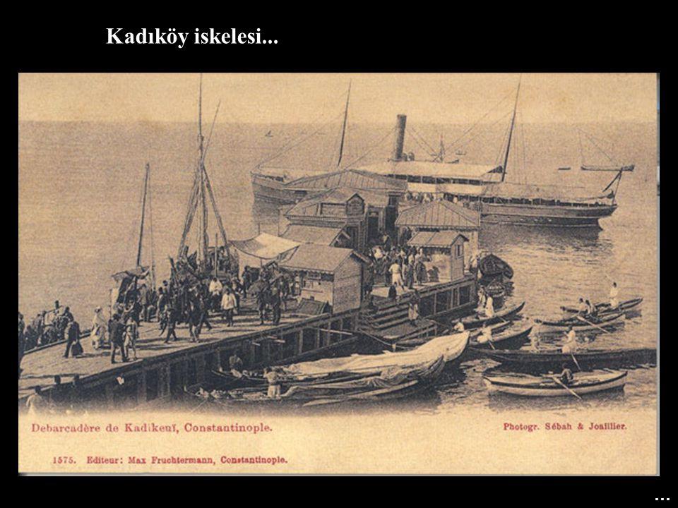 Kadıköy iskelesi... …