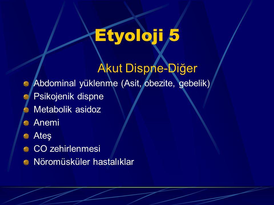 Etyoloji 5 Akut Dispne-Diğer