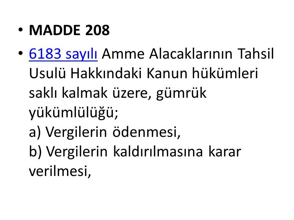 MADDE 208