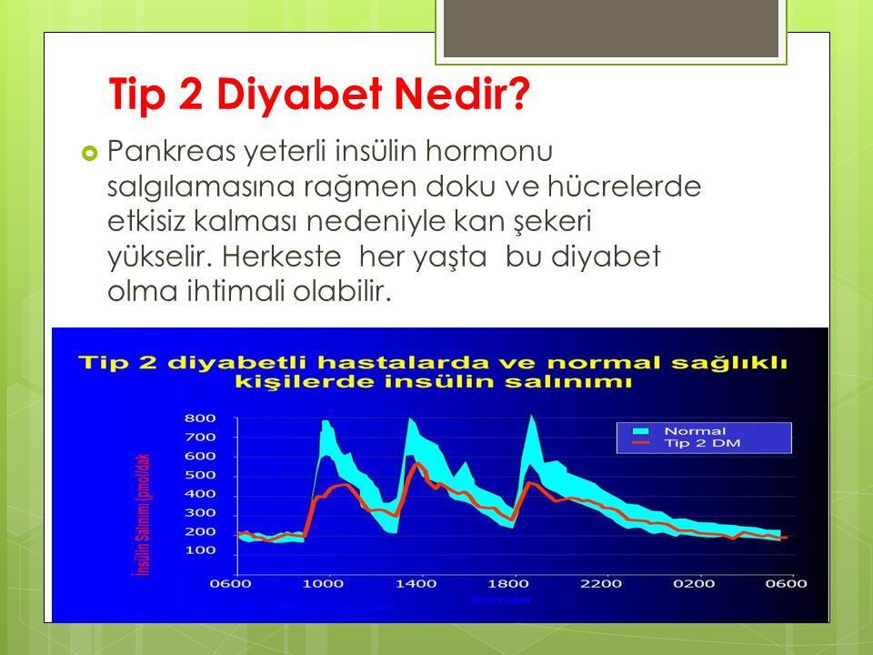 Tip 2 Diyabet Nedir