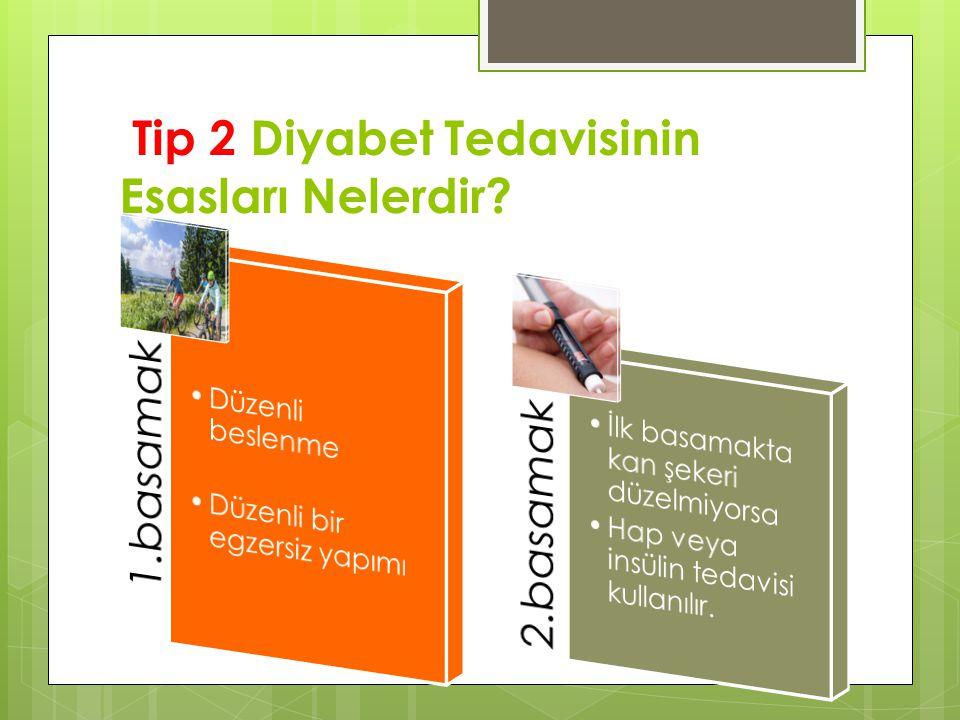 Tip 2 Diyabet Tedavisinin Esasları Nelerdir