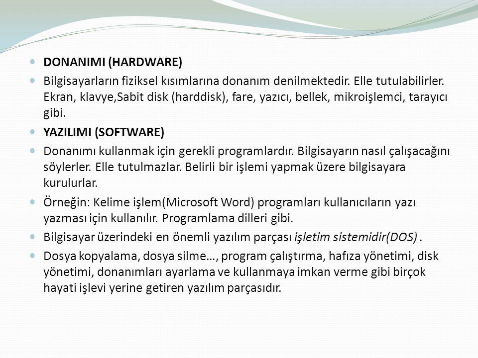 DONANIMI (HARDWARE)