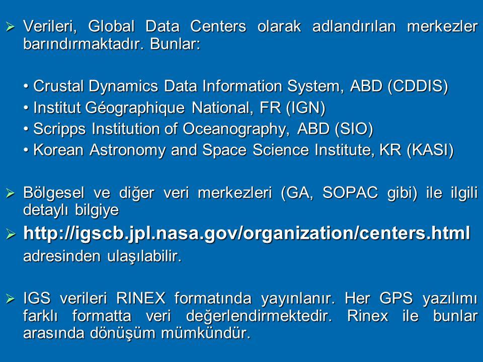 Verileri, Global Data Centers olarak adlandırılan merkezler barındırmaktadır. Bunlar: