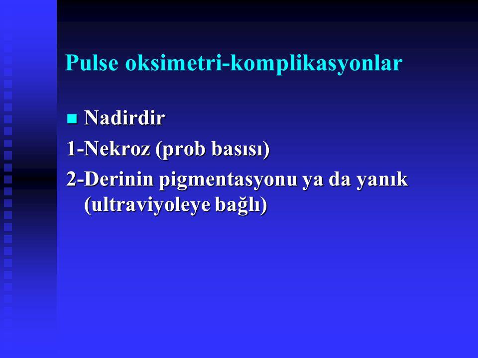 Pulse oksimetri-komplikasyonlar
