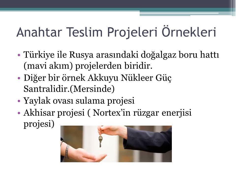 Anahtar Teslim Projeleri Örnekleri