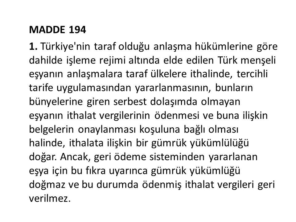 MADDE 194 1.