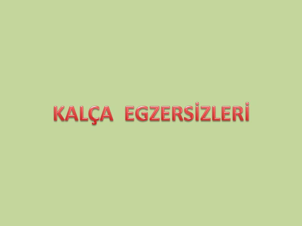 KALÇA EGZERSİZLERİ