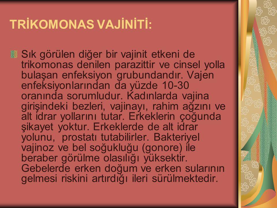 TRİKOMONAS VAJİNİTİ: