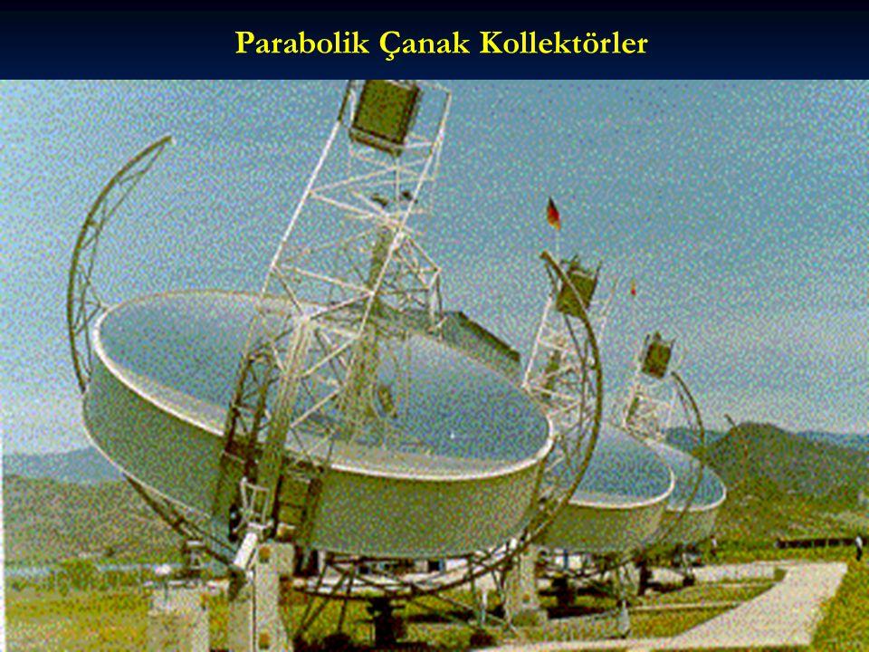 Parabolik Çanak Kollektörler
