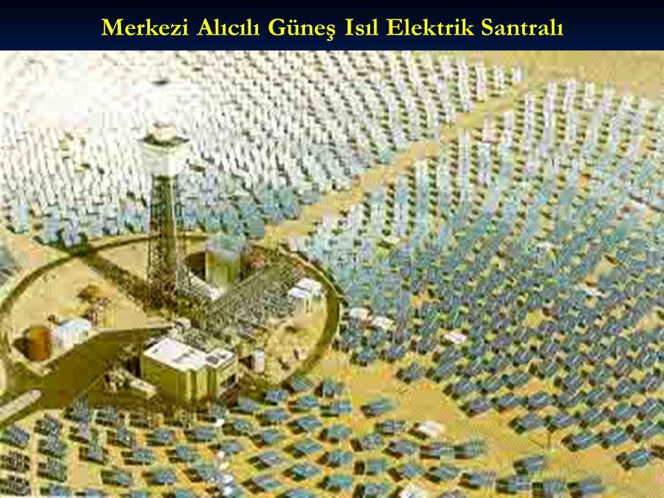 Merkezi Alıcılı Güneş Isıl Elektrik Santralı