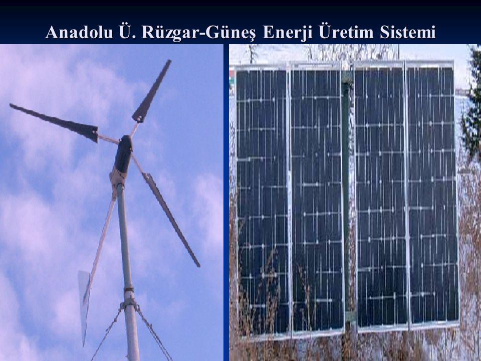 Anadolu Ü. Rüzgar-Güneş Enerji Üretim Sistemi