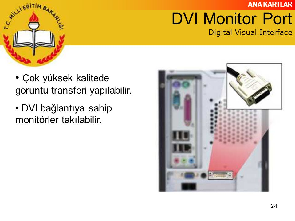 DVI Monitor Port Digital Visual Interface