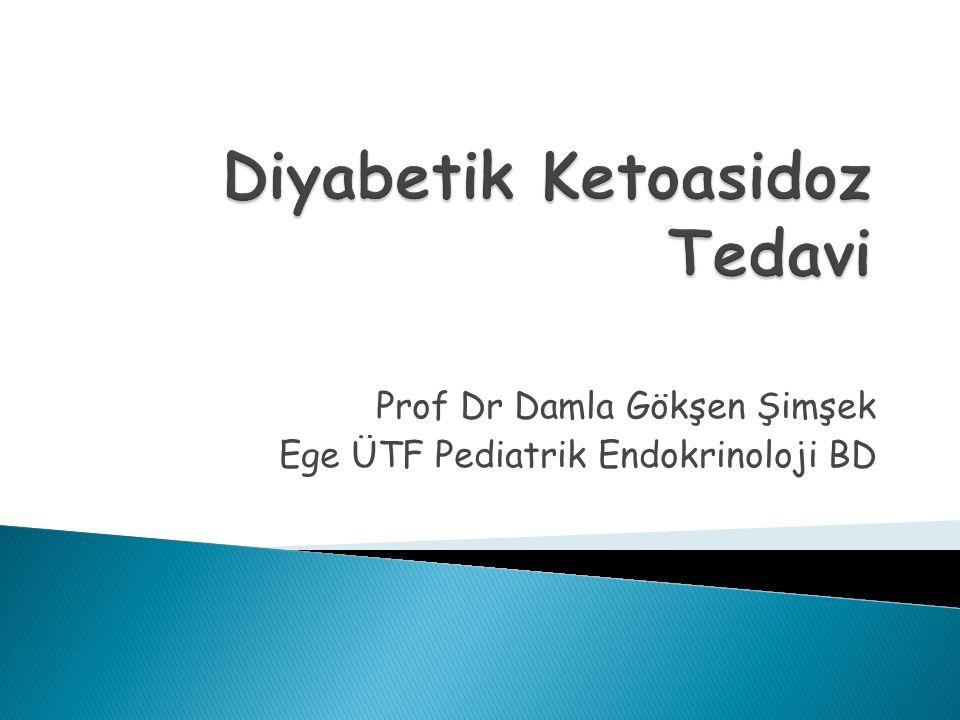 Diyabetik Ketoasidoz Tedavi