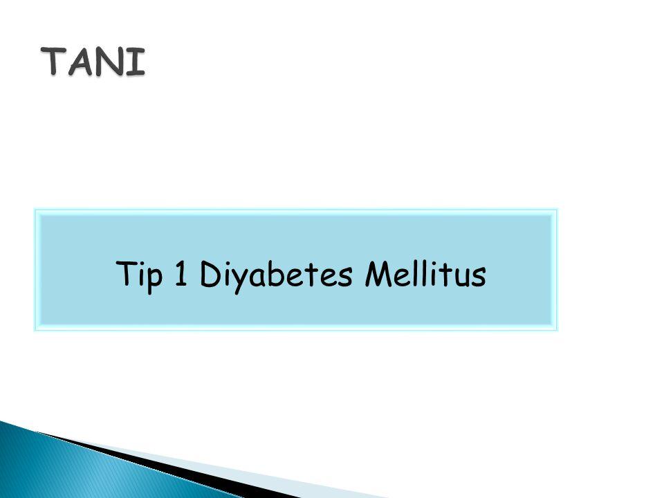 Tip 1 Diyabetes Mellitus