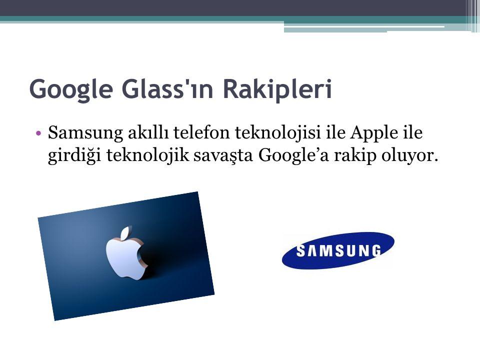 Google Glass ın Rakipleri