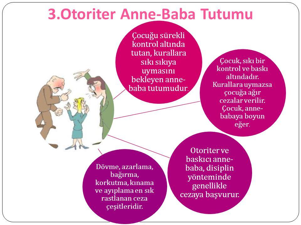 3.Otoriter Anne-Baba Tutumu