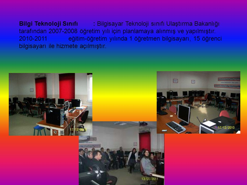Bilgi Teknoloji Sınıfı