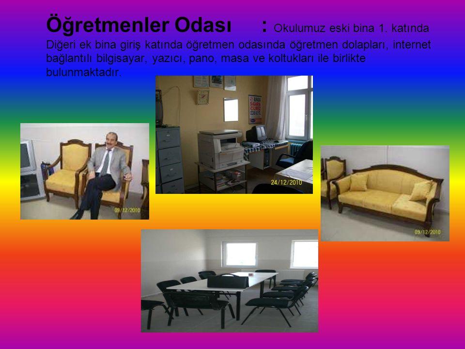 Öğretmenler Odası. : Okulumuz eski bina 1
