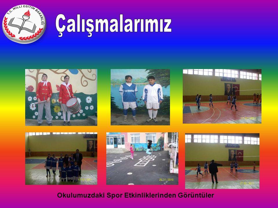 Okulumuzdaki Spor Etkinliklerinden Görüntüler
