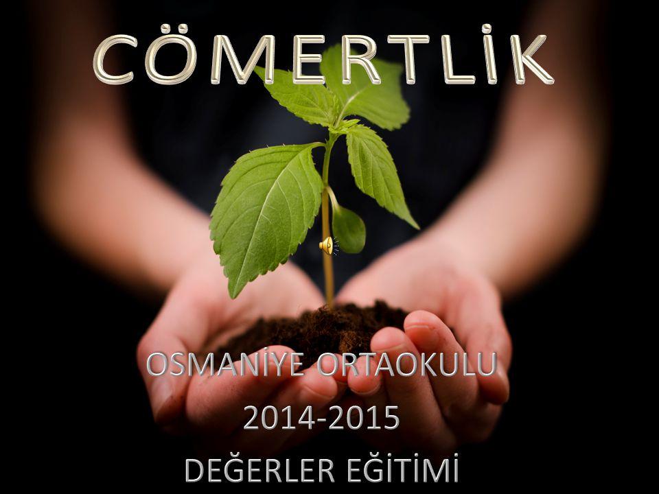 OSMANİYE ORTAOKULU 2014-2015 DEĞERLER EĞİTİMİ
