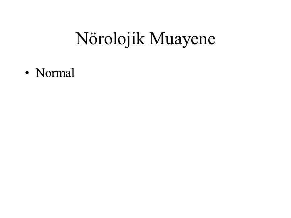 Nörolojik Muayene Normal