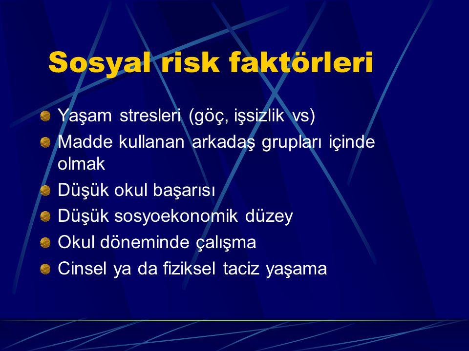 Sosyal risk faktörleri