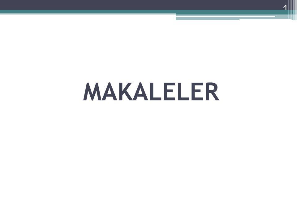 MAKALELER