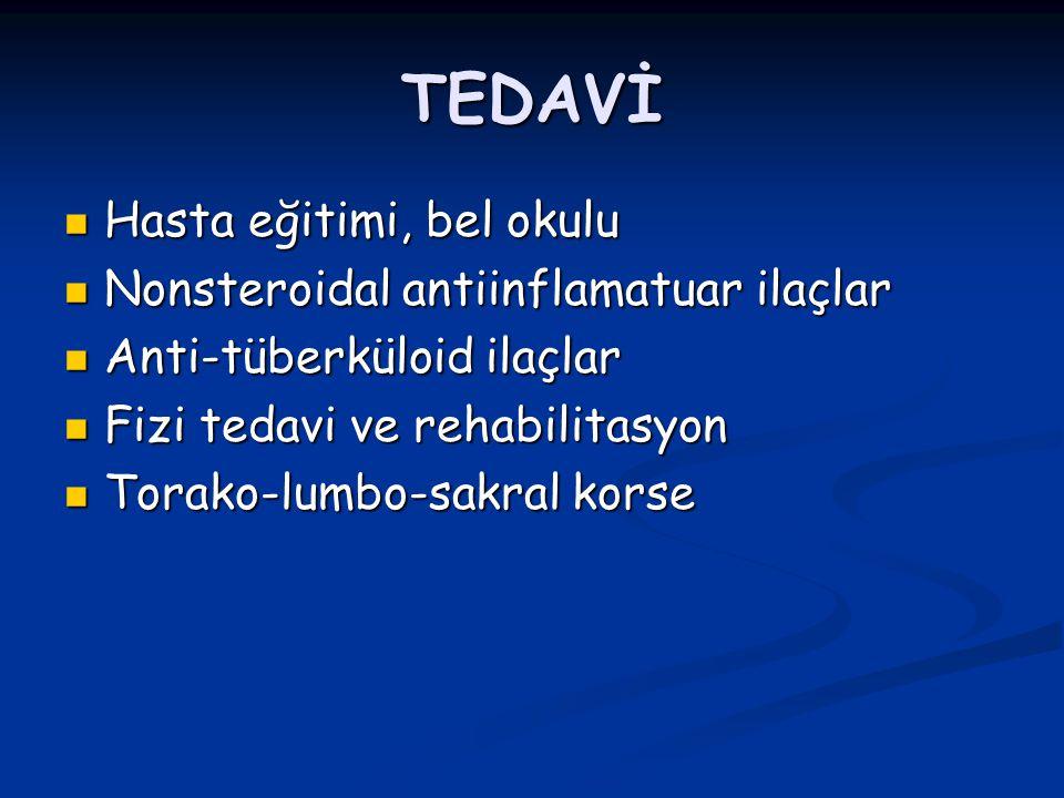 TEDAVİ Hasta eğitimi, bel okulu Nonsteroidal antiinflamatuar ilaçlar