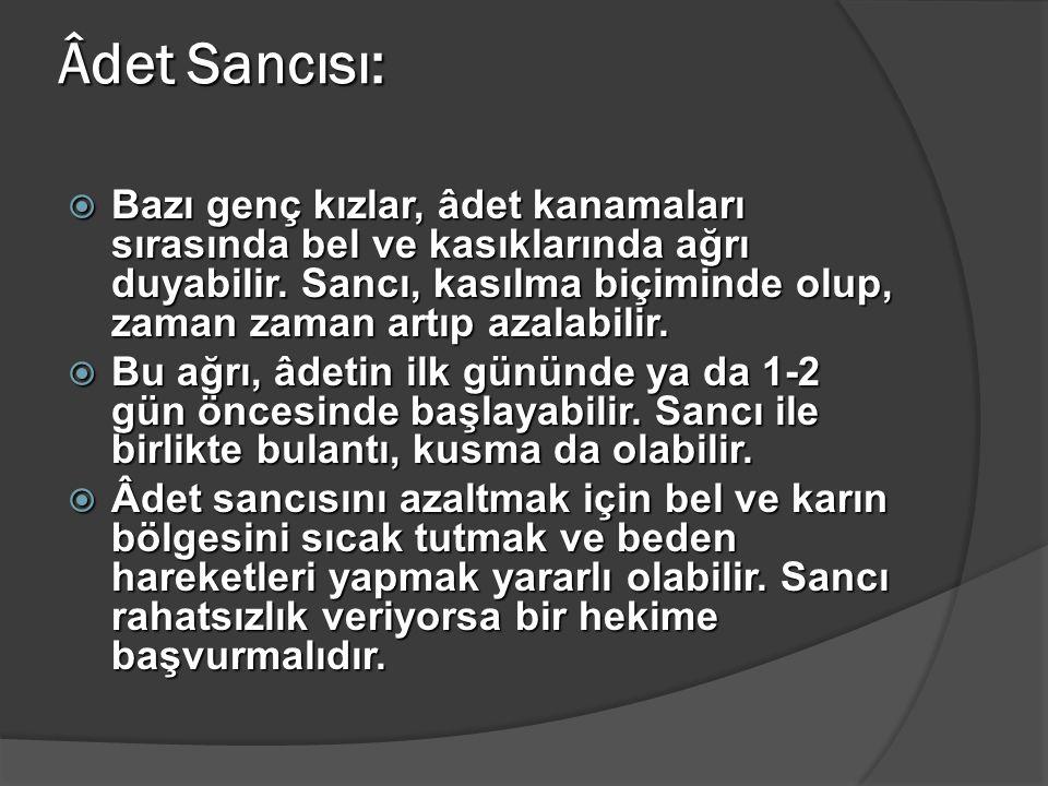 Âdet Sancısı: