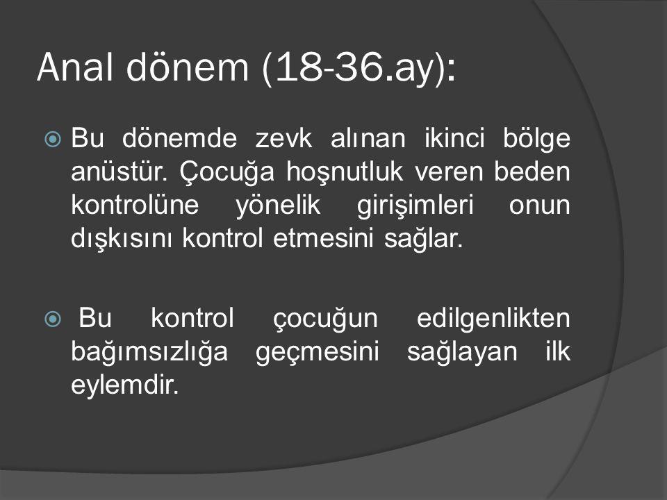 Anal dönem (18-36.ay):