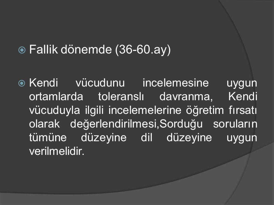 Fallik dönemde (36-60.ay)