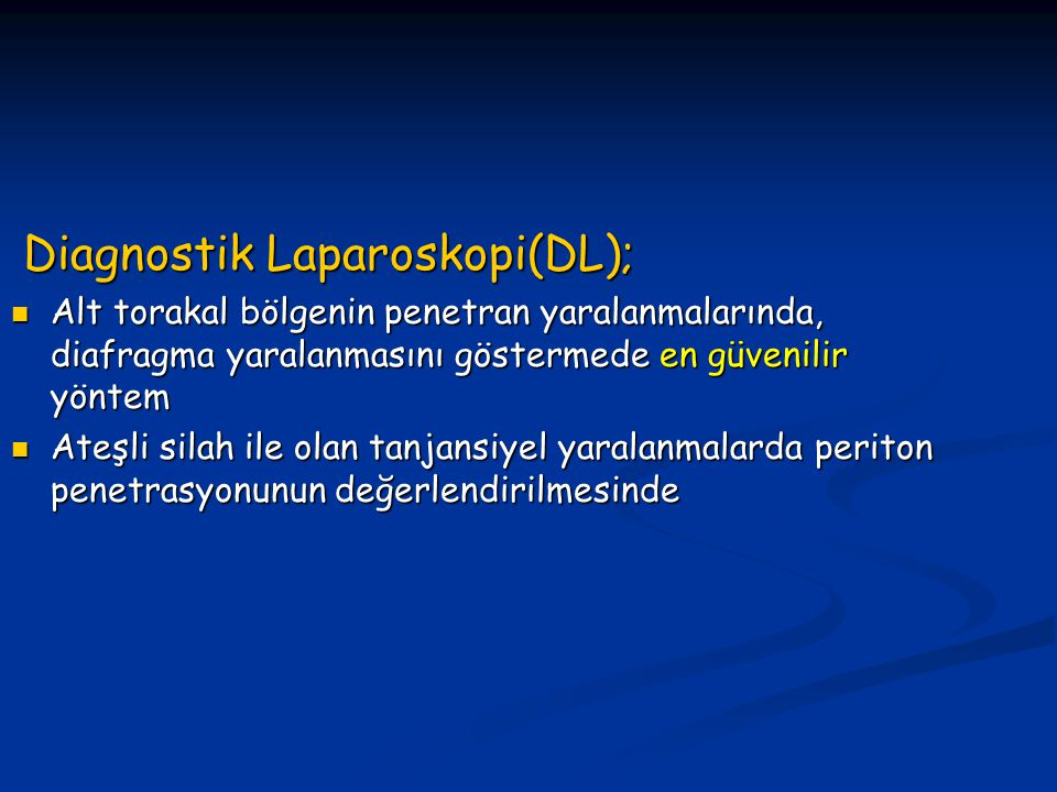 Diagnostik Laparoskopi(DL);