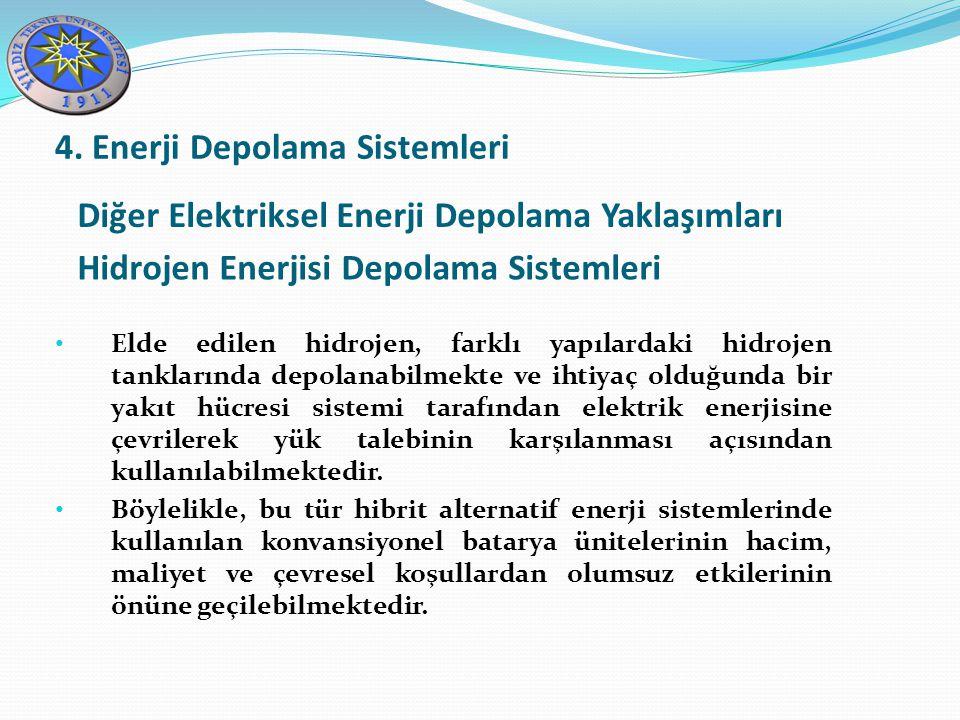 4. Enerji Depolama Sistemleri