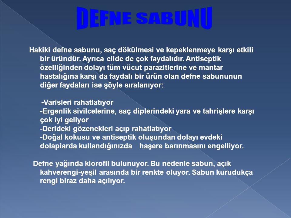 DEFNE SABUNU