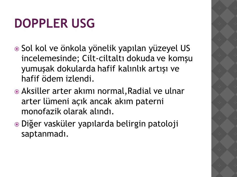 DOPPLER USG