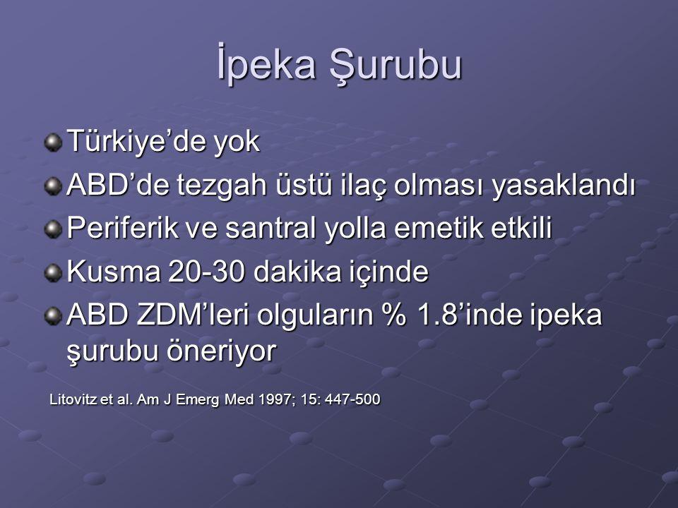 İpeka Şurubu Türkiye'de yok ABD'de tezgah üstü ilaç olması yasaklandı