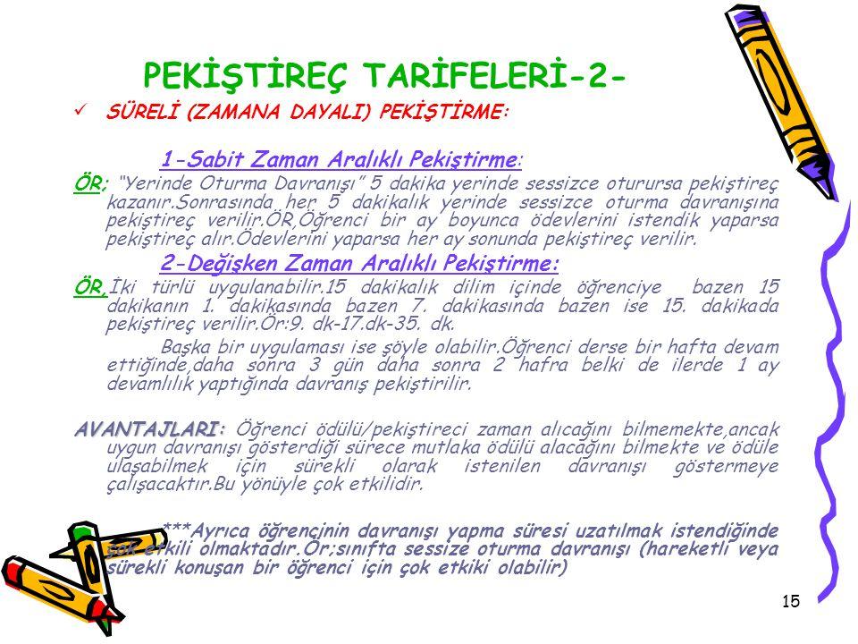 PEKİŞTİREÇ TARİFELERİ-2-
