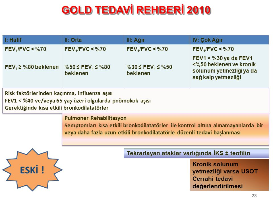 GOLD TEDAVİ REHBERİ 2010 ESKİ !