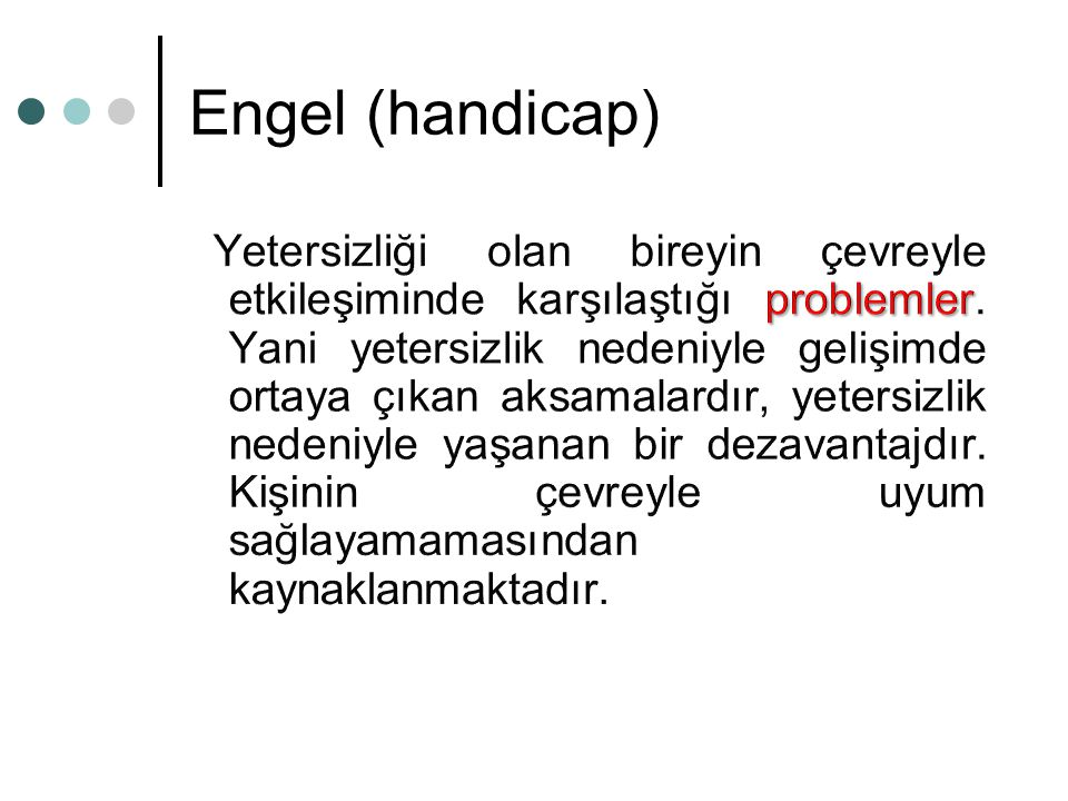 Engel (handicap)