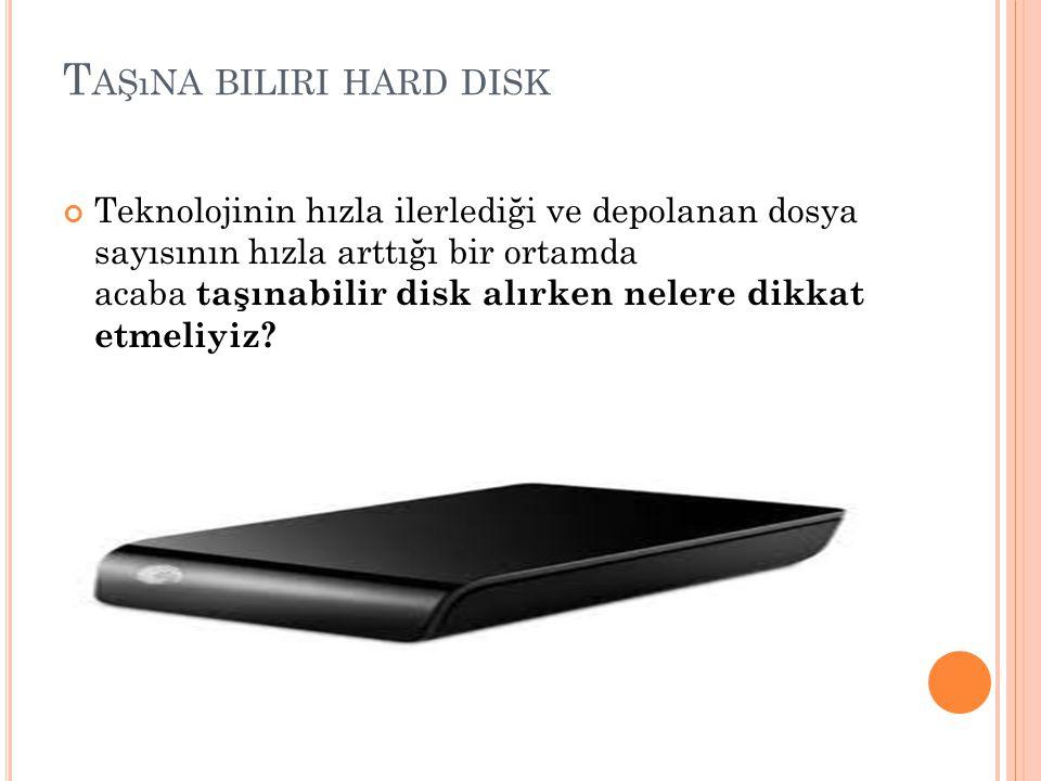 Taşına biliri hard disk