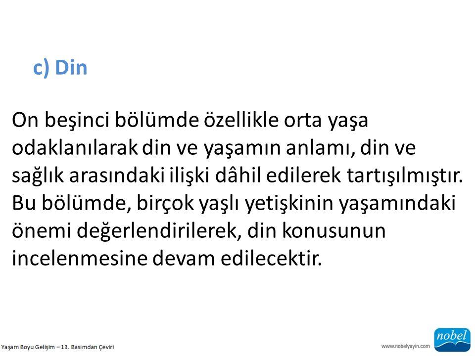 c) Din