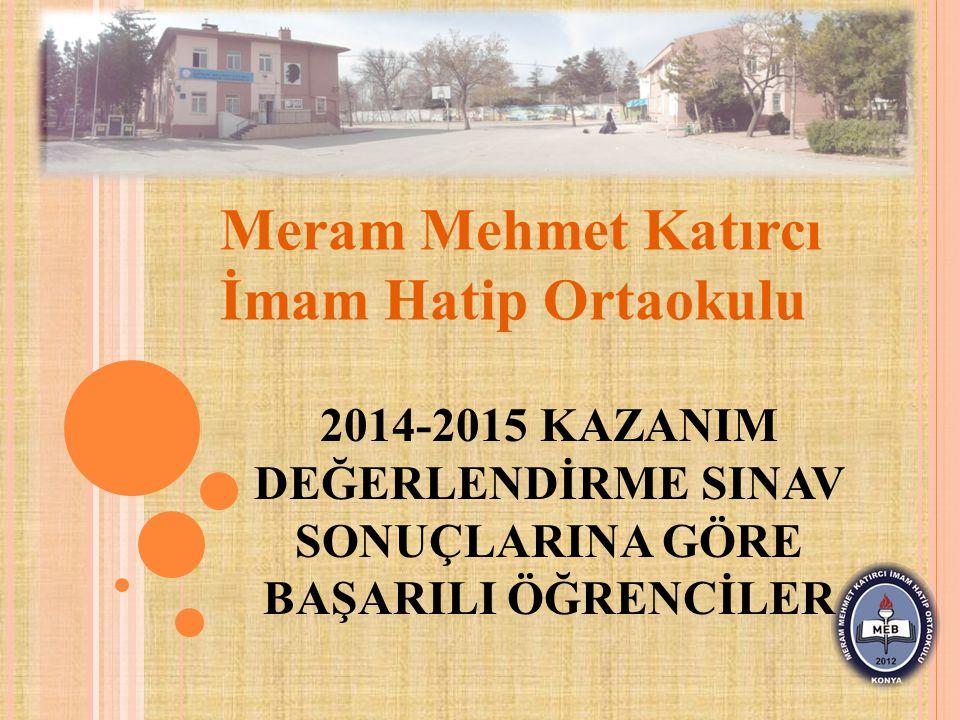 Meram Mehmet Katırcı İmam Hatip Ortaokulu