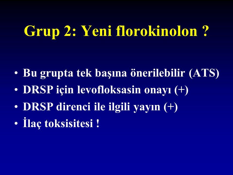 Grup 2: Yeni florokinolon