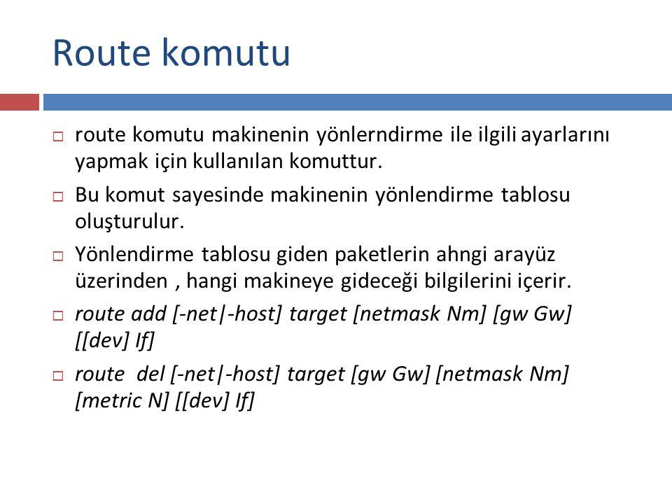 Route komutu route komutu makinenin yönlerndirme ile ilgili ayarlarını yapmak için kullanılan komuttur.