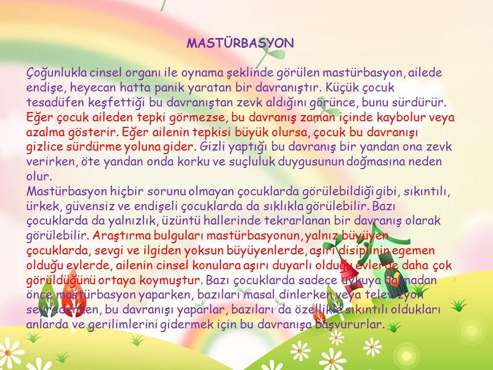 MASTÜRBASYON