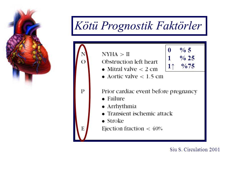 Kötü Prognostik Faktörler