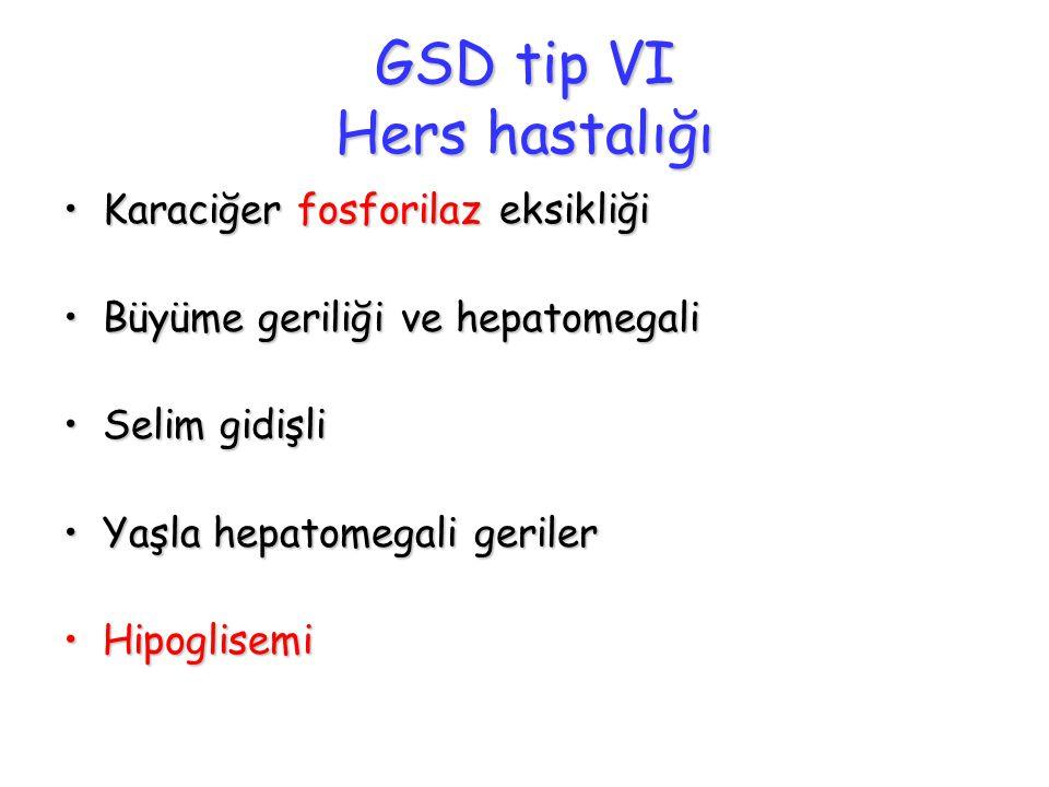 GSD tip VI Hers hastalığı