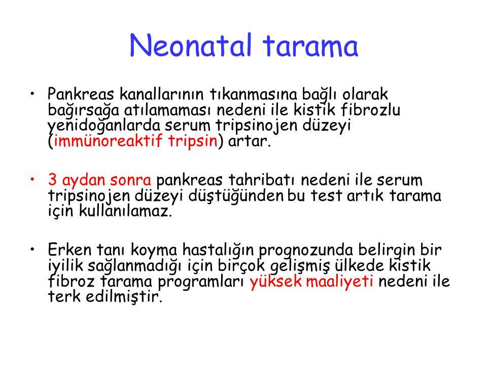 Neonatal tarama