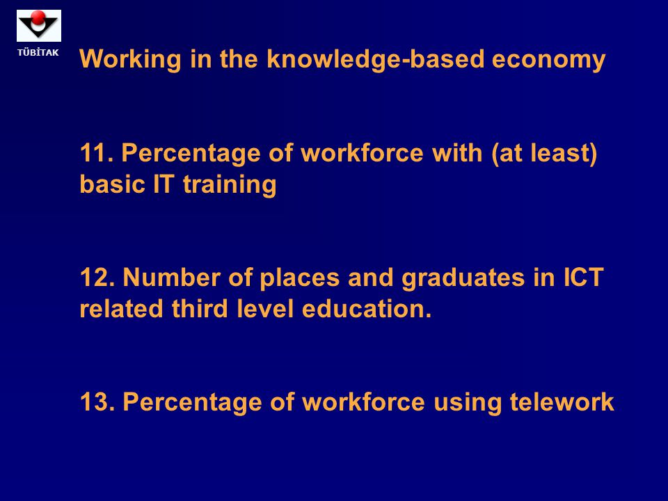Working in the knowledge-based economy